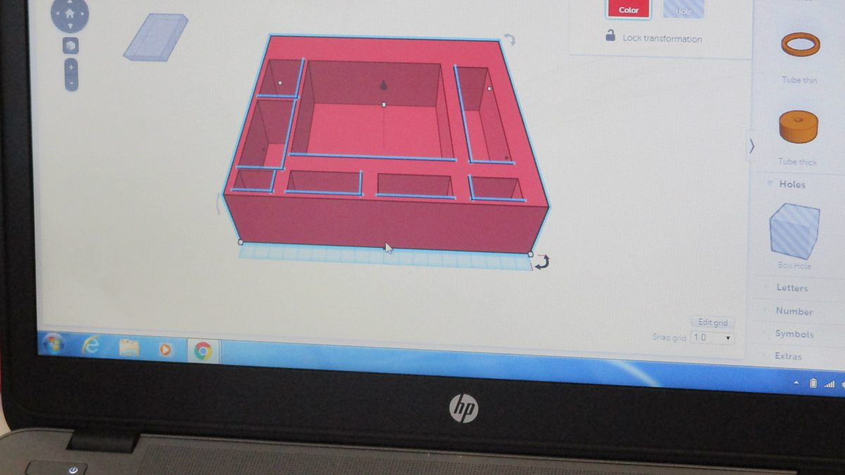 BBC - Linlithgow Primary School designs take shape - Make It Digital ...