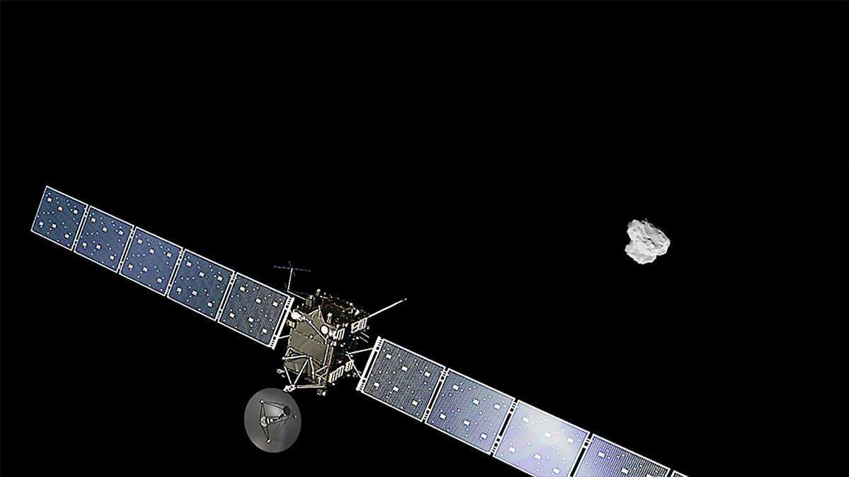 european space agency's rosetta spacecraft - 982×552