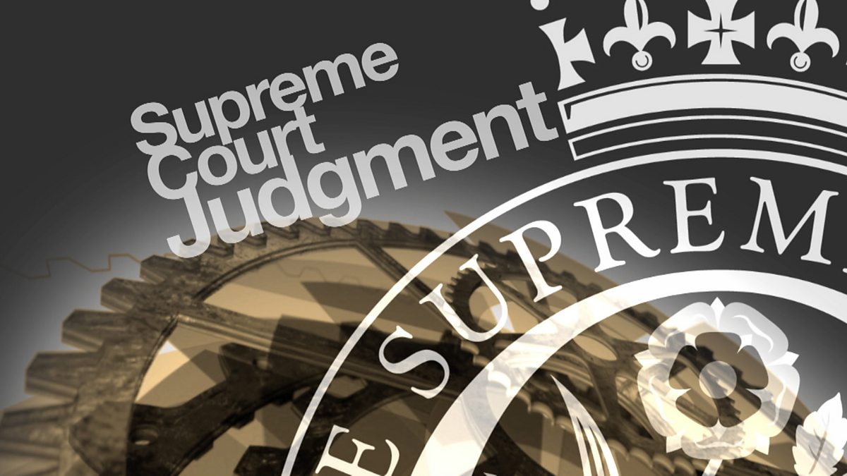 supreme court judgement After the government lost its historic legal battle over brexit, the supreme court  published the full 43000-word judgment online.