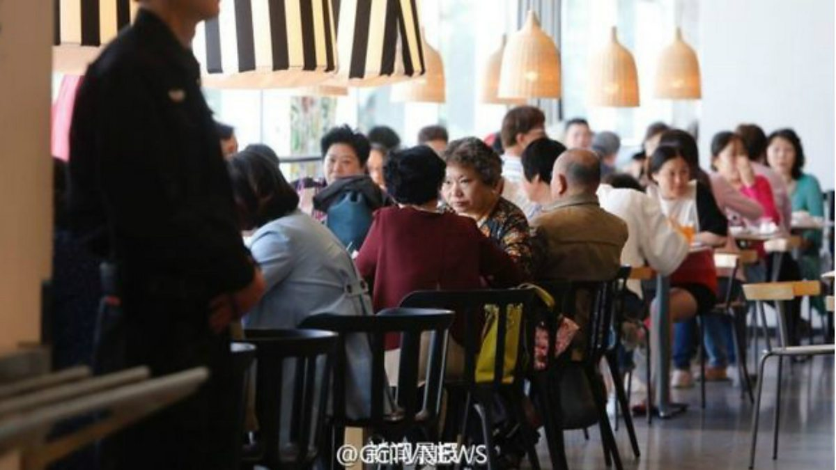 Ikea to elderly Chinese singles Get a room