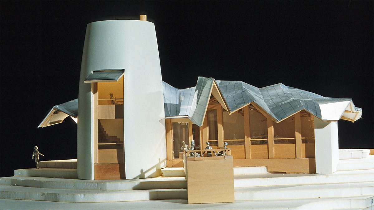Frank Gehry Al Maggies Center : Bbc arts model for dundee maggie s centre