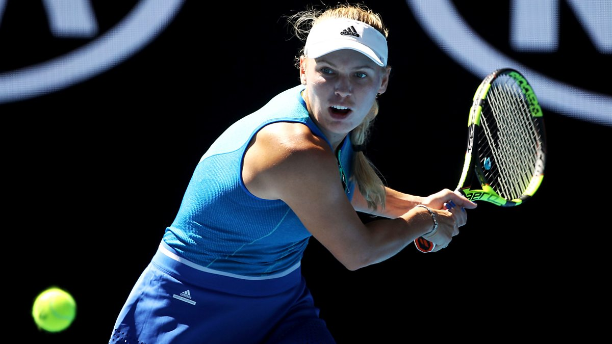BBC Sport - Australian Open Tennis, 2017, Day 6