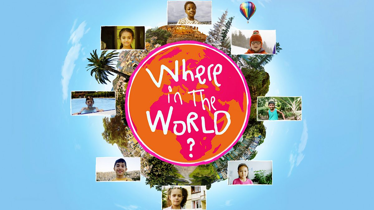 Where In The World? - Series 1: 6. Mario, Tyra And Liza: Tyra Builds Sandcastles At The Beach