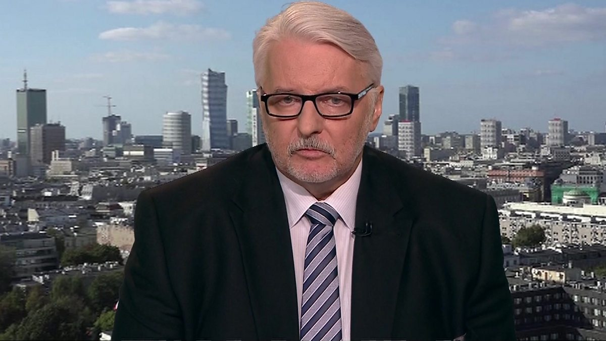 BBC News Channel - HARDtalk, Witold Waszczykowski, Minister of Foreign Affairs, Poland