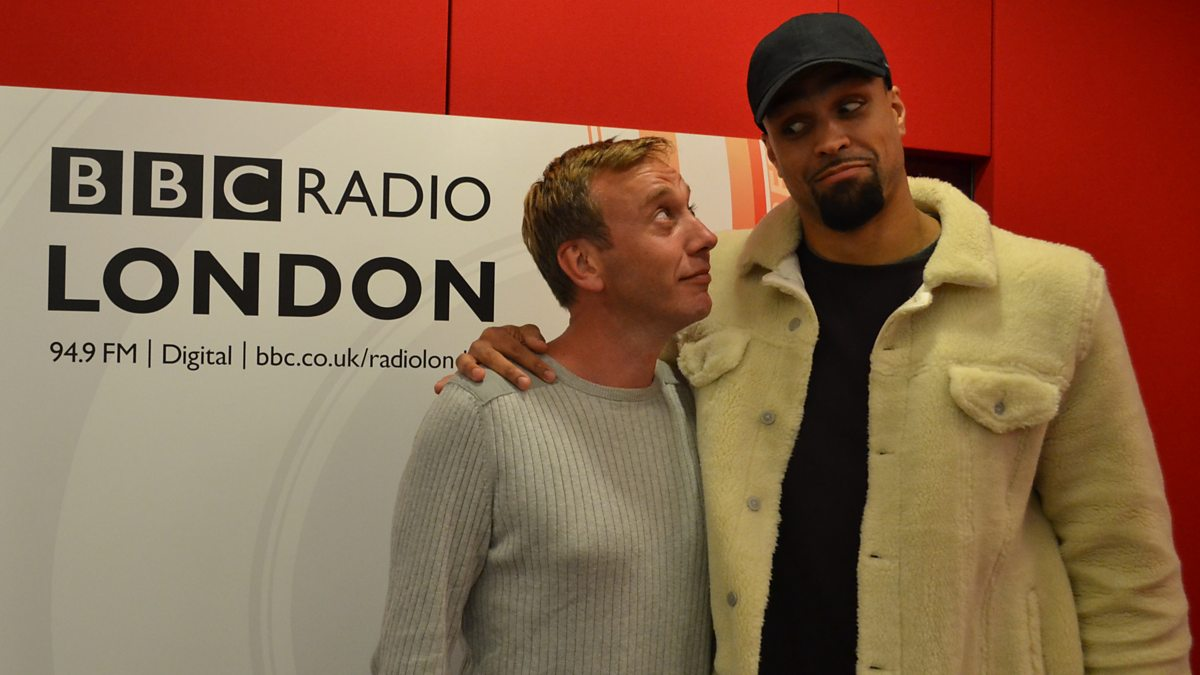 Bbc Radio London Drivetime With Eddie Nestor Ashley Banjo Talks Getting Kids Active With Dance