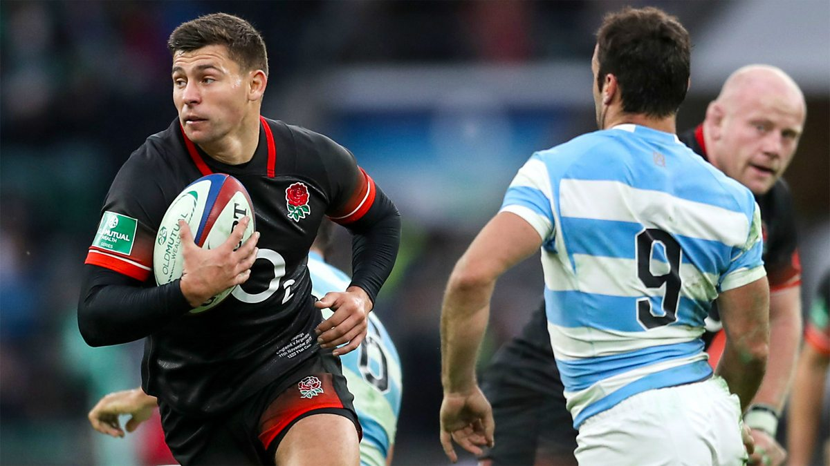 BBC Two Rugby Union 20172018 England V Argentina