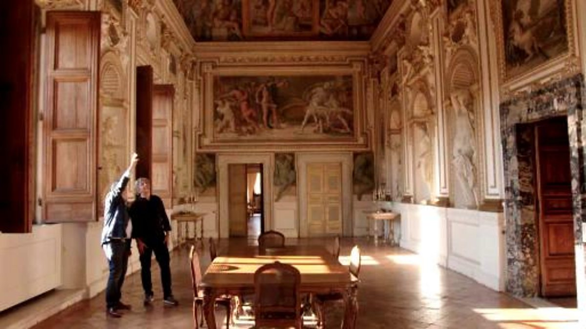 Bbc Two Rome Unpacked Series 1 Episode 1 Farnese Palace