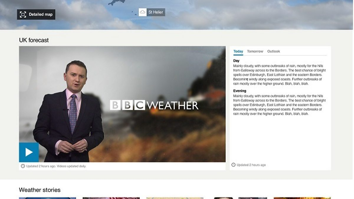 BBC Blogs - Technology & Creativity Blog - BBC Weather: Listening to