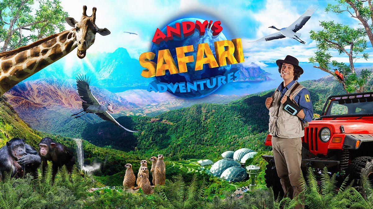 Andy's Safari Adventures - Series 1: 7. Andy And The Lions