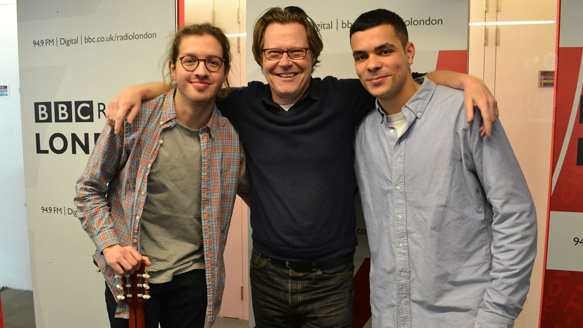 Ady Suleiman Longing For Your Love bbc radio london - robert elms, ady suleiman, ben levy and