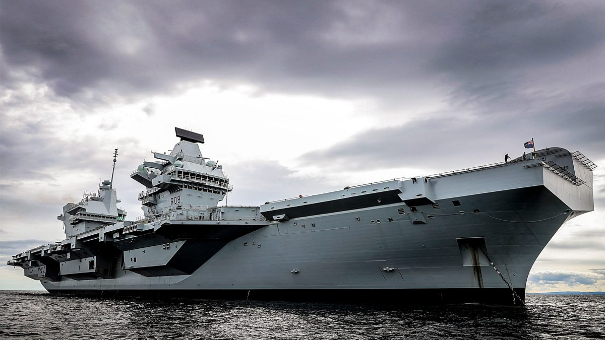 Britain's Biggest Warship - Series 1: 1. Crewing Up