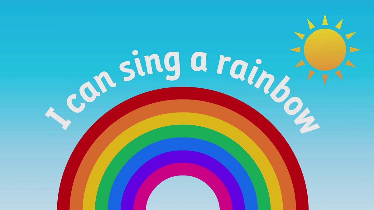 bbc school radio nursery songs and rhymes i can sing a rainbow. Black Bedroom Furniture Sets. Home Design Ideas