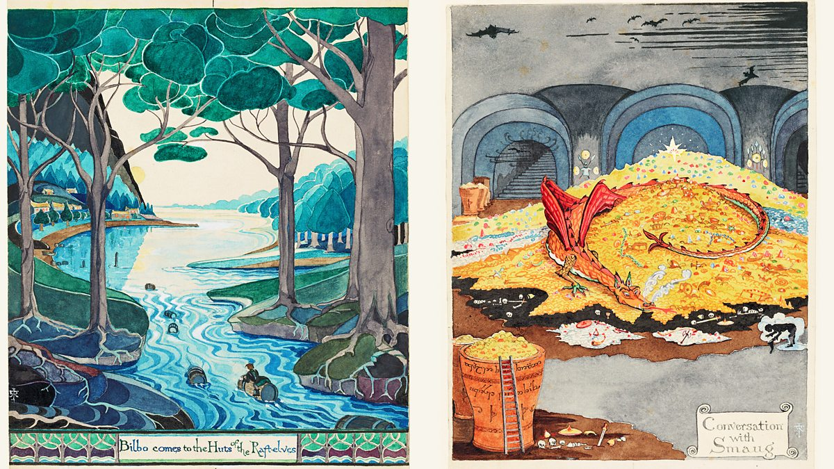 BBC Arts - BBC Arts - Middle-earth in colour: How Tolkien ...