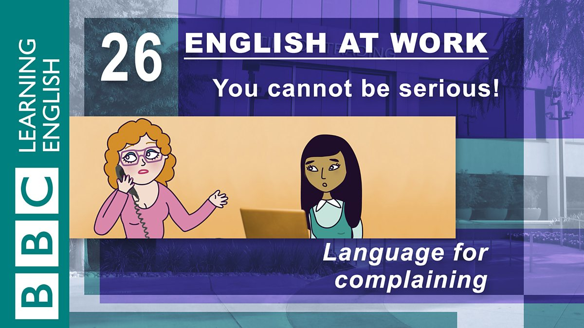 English at Work: Episode 58: Pulling out the stops - bbc.co.uk