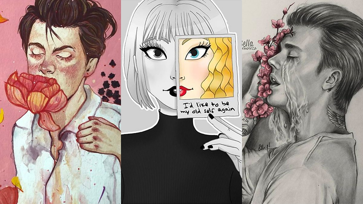 9 powerful examples of pop star fan art from social media