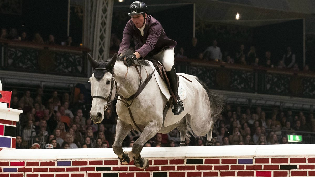 Bbc Sport Equestrian Olympia Horse Show 2018 Puissance