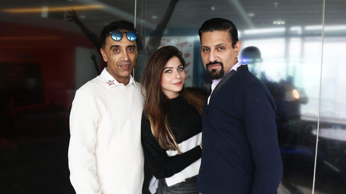 BBC Asian Network - Raj and Pablo, Kanika Kapoor
