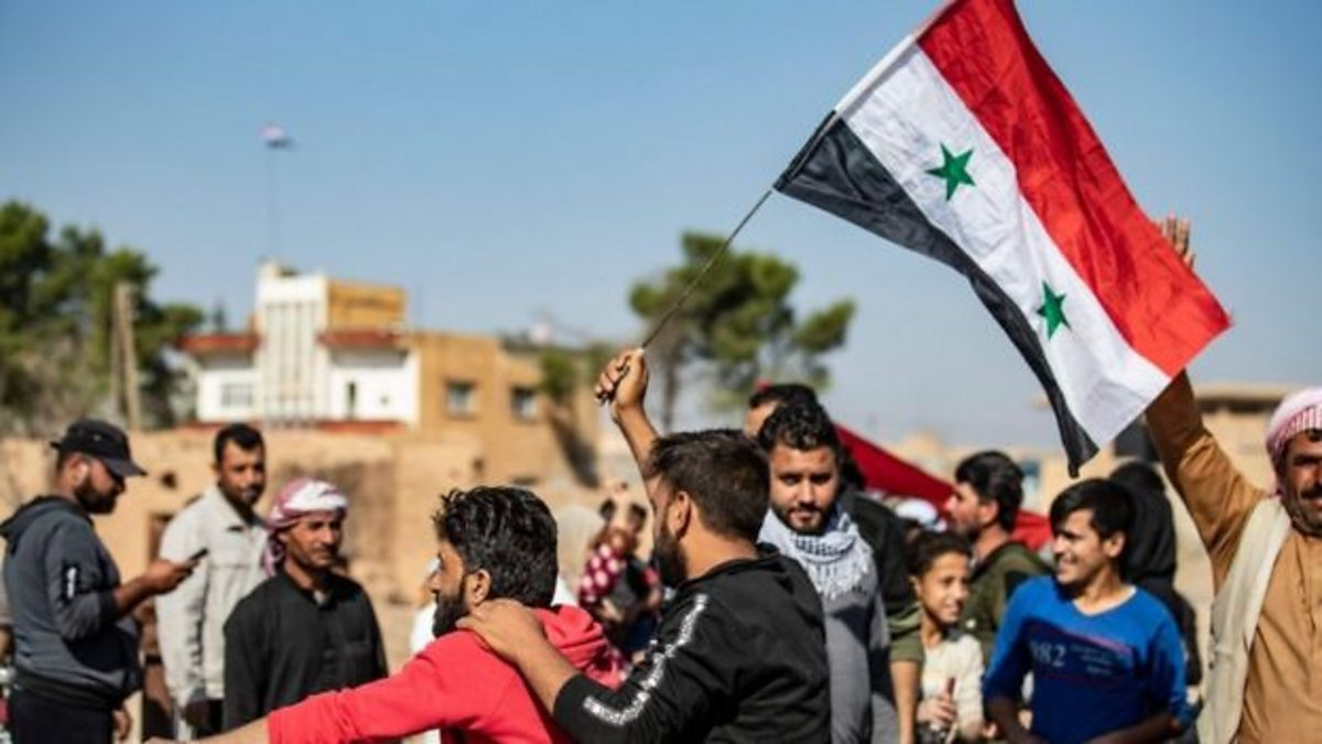 Kurds celebrate as Assad government gains in Syria thumbnail
