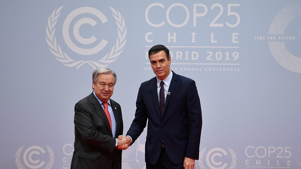 Climate change: 'Point of no return' in sight as COP25 talks begin thumbnail