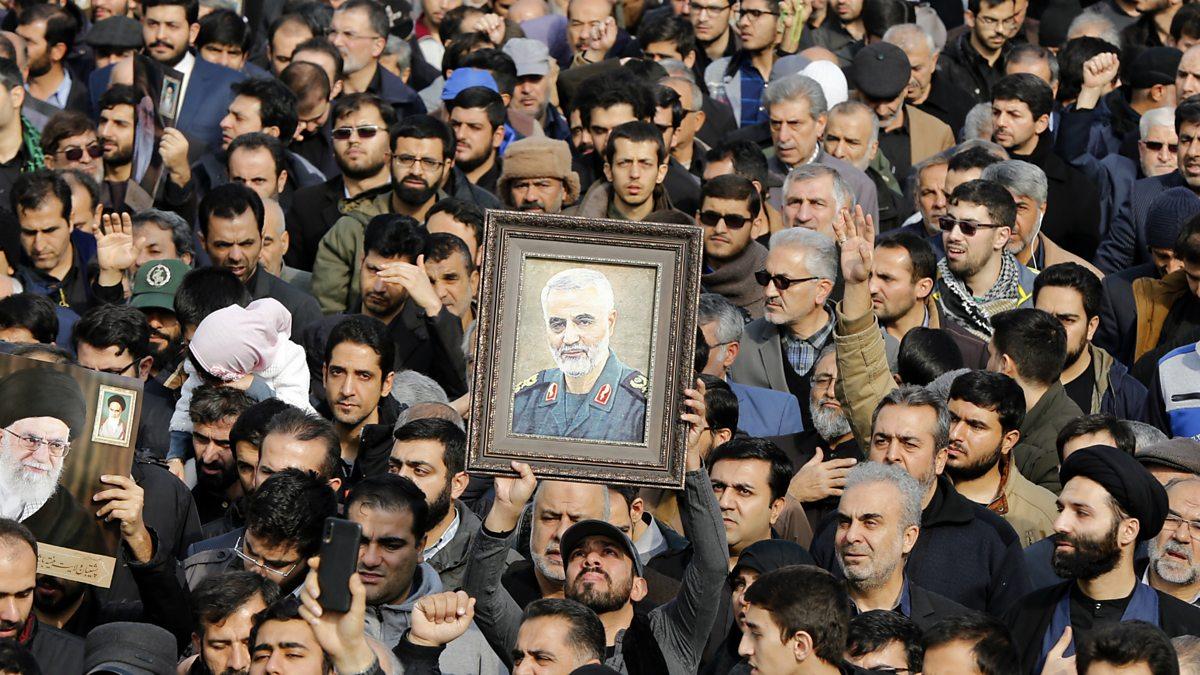 The US justifies the killing of top Iranian general Qasem Soleimani thumbnail