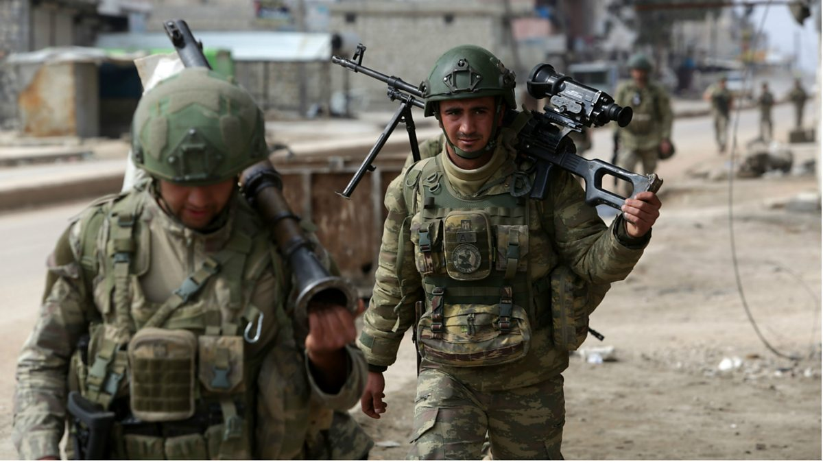 Syria war: Turkish operation in Idlib 'only a matter of time' thumbnail