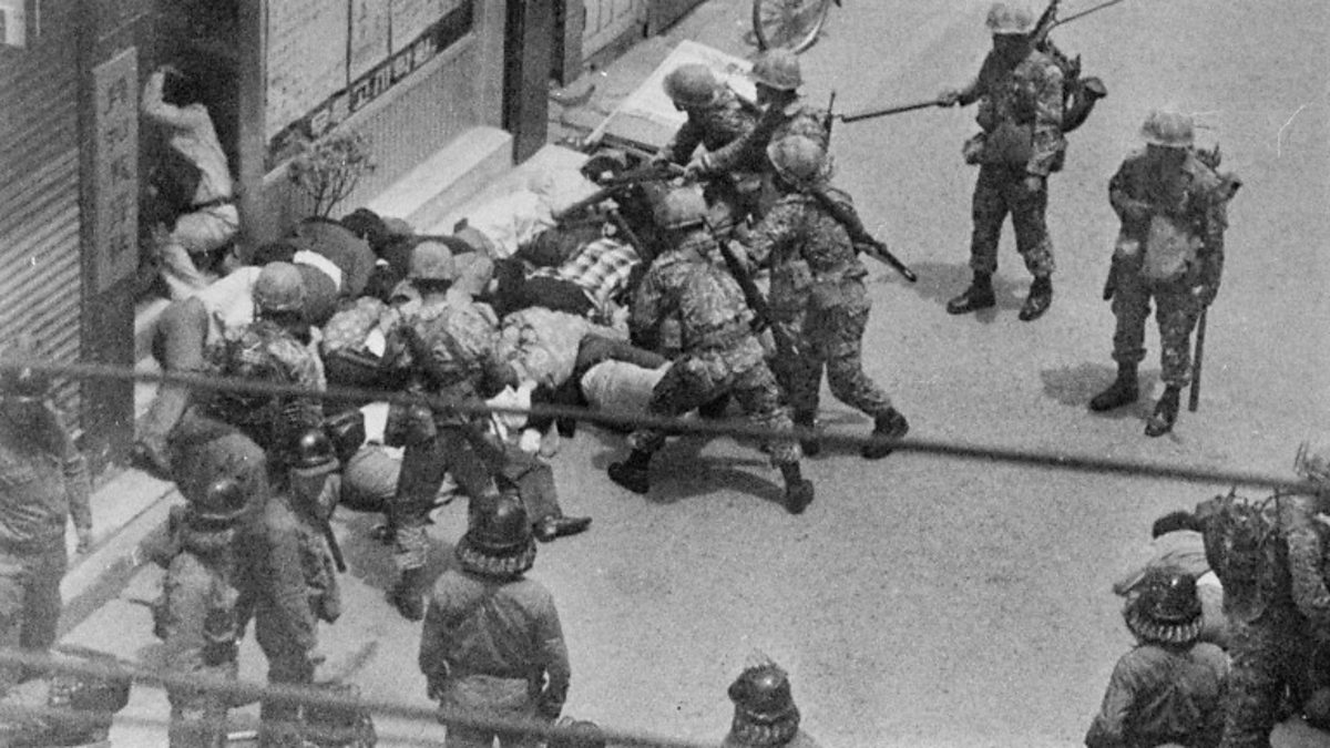 Gwangju Massaker