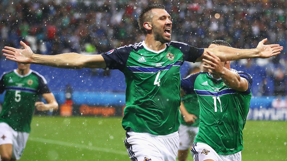 Sport Re-run - Football: 3. Northern Ireland v Ukraine 2016