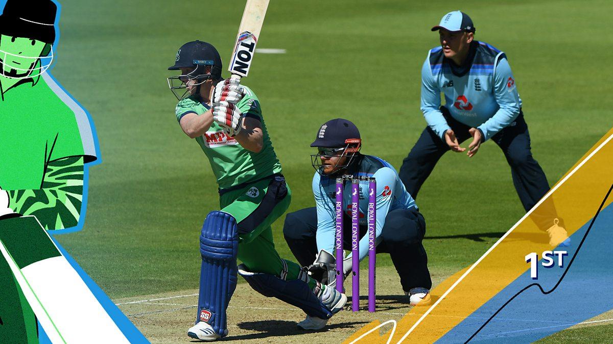 Odi Cricket 2020 England V Ireland First One Day International Bbc Sport