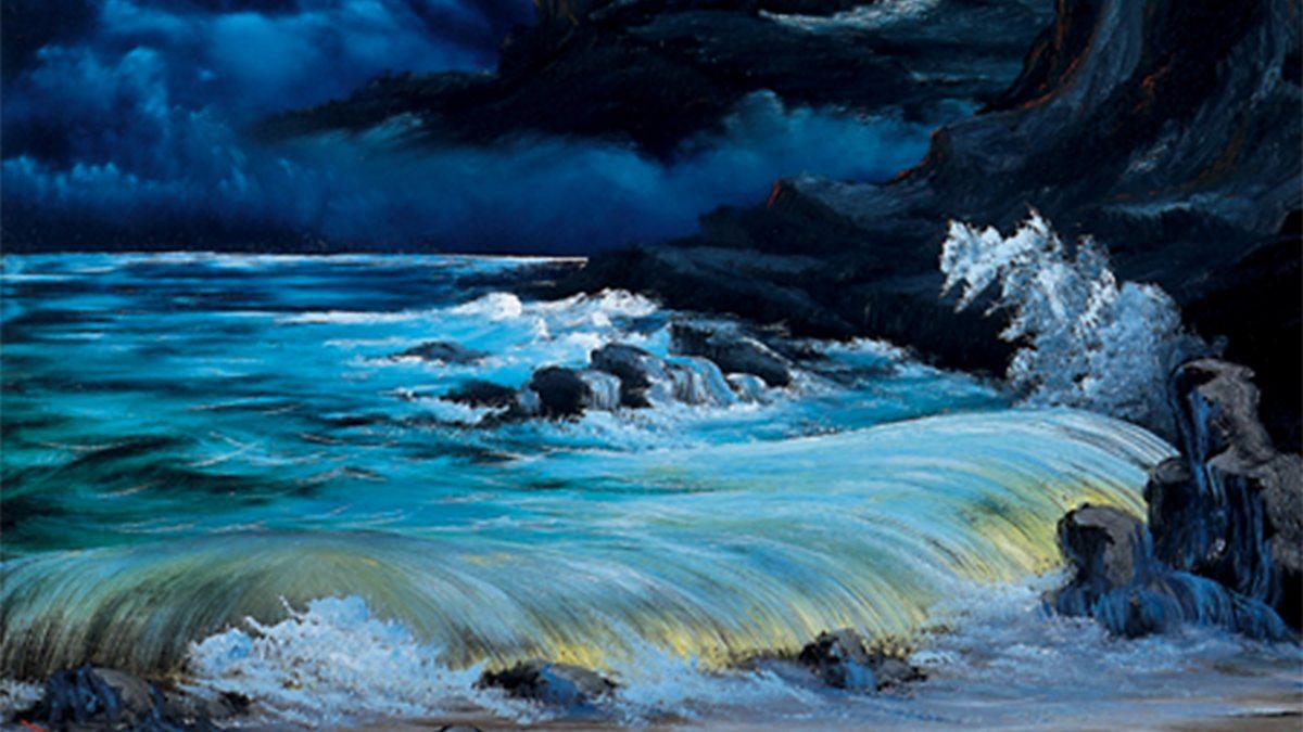 Bbc Iplayer The Joy Of Painting Series 3 25 Evening Seascape