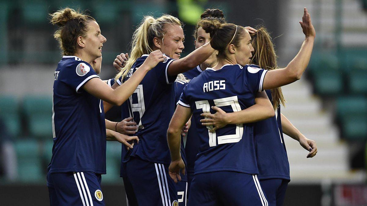 BBC ALBA - UEFA Women's Euro, 2022 Qualifiers, Scotland v Finland
