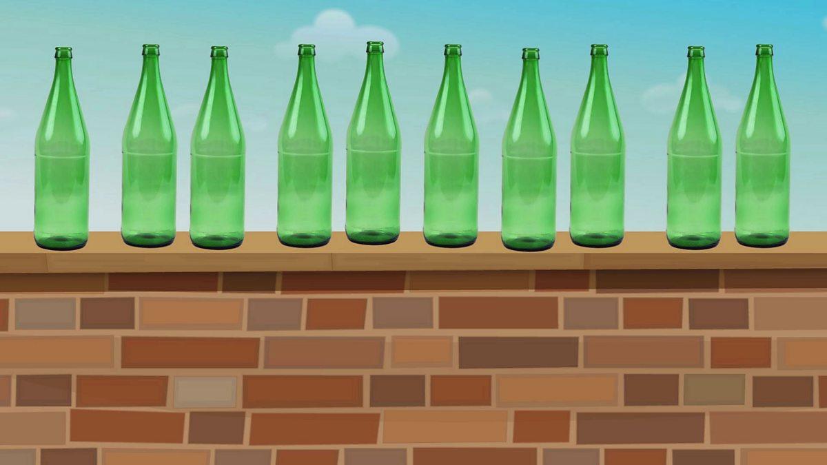Ten green bottles - BBC Teach