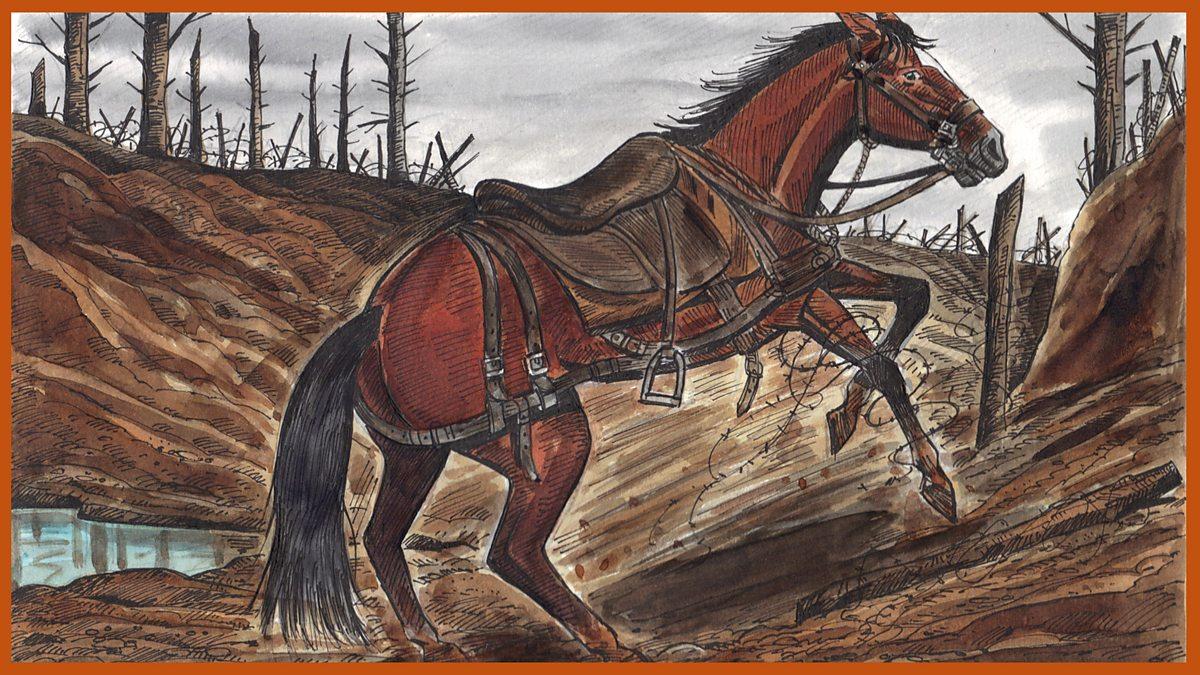 English Ks2 War Horse Episode 7 The Loss Of A Friend Bbc Teach