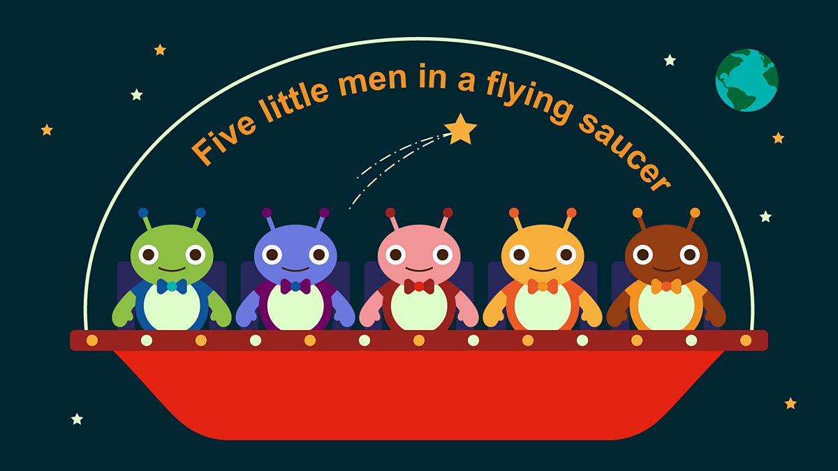 Five Little Men In A Flying Saucer Bbc Teach