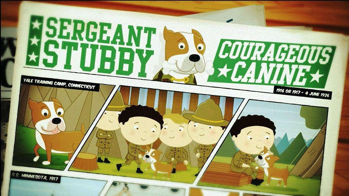 Who was Sergeant Stubby? - BBC Bitesize