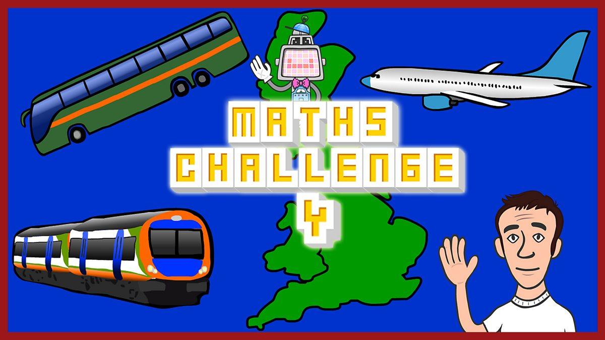 Maths Challenge Quiz. 4: The Great British dash - BBC Teach