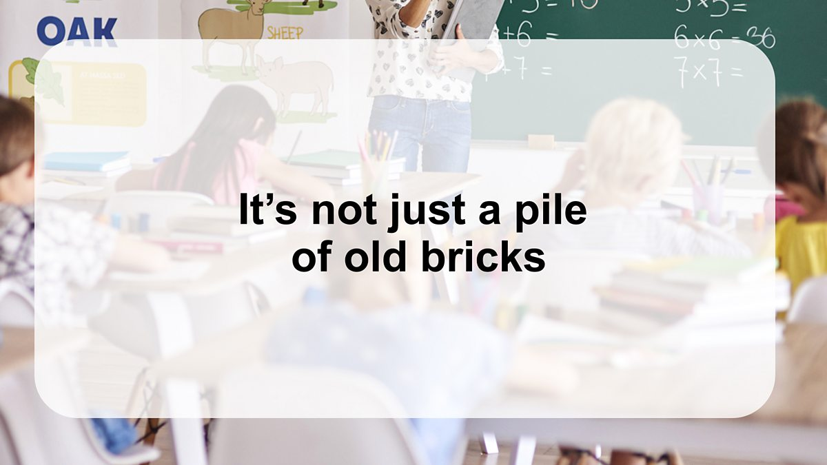 Image result for its not just a pile of old bricks