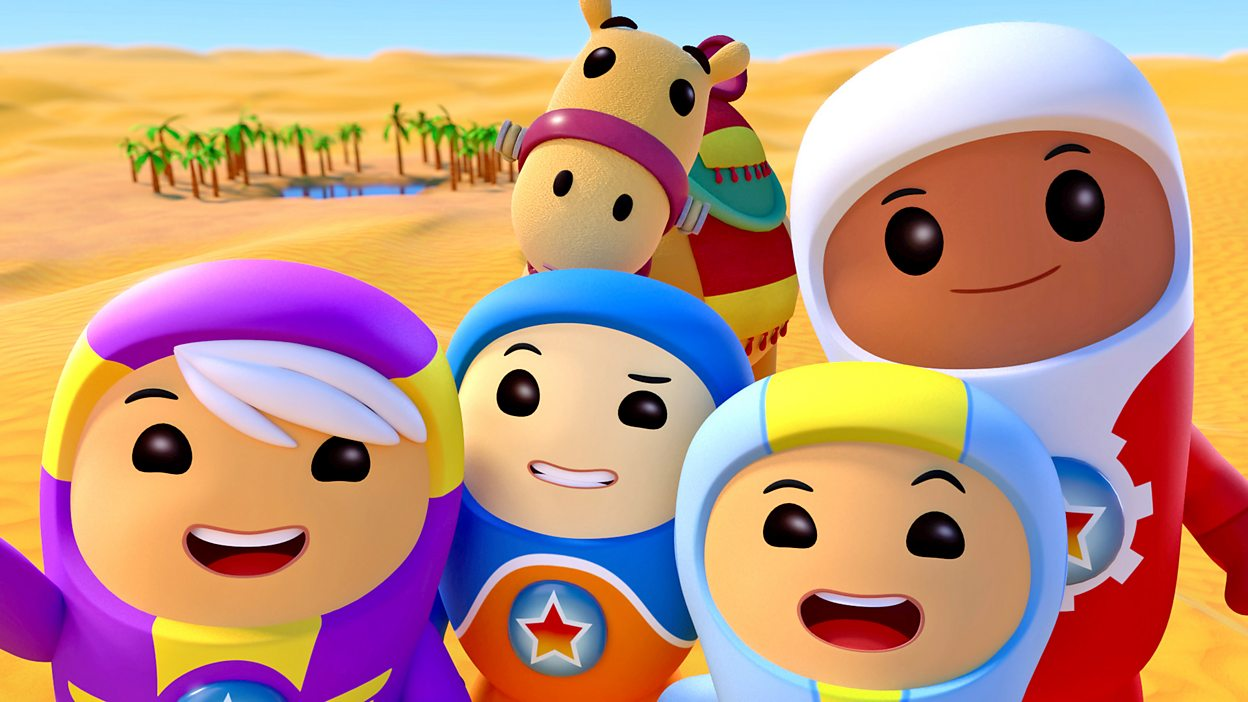 BBC iPlayer - Go Jetters - Series 1: 4. The Sahara Desert, Africa