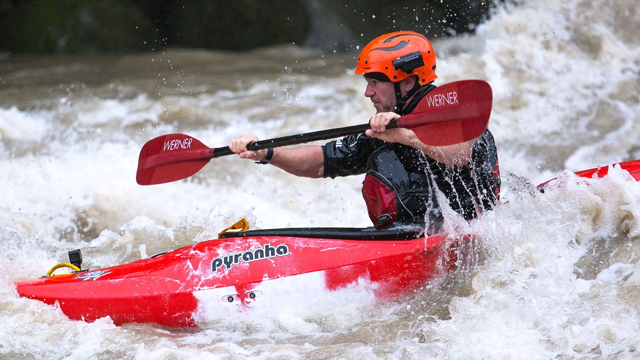 Image result for steve backshall kayak rapids
