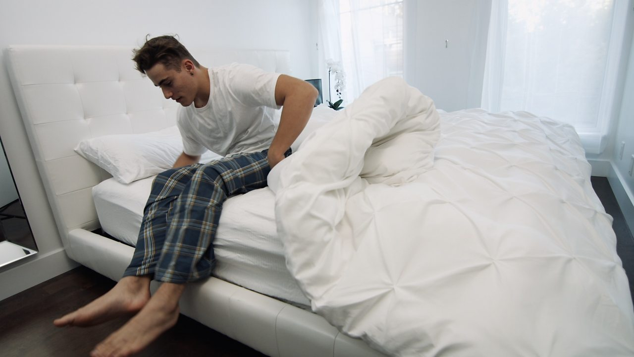 Smart duvet: the bed that makes itself