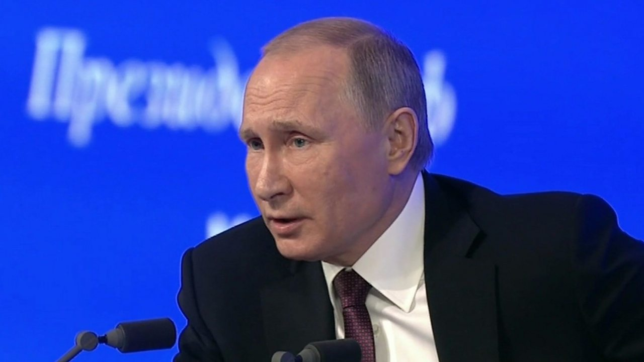 Vladimir Putin says Russia is 'stronger than any aggressor'