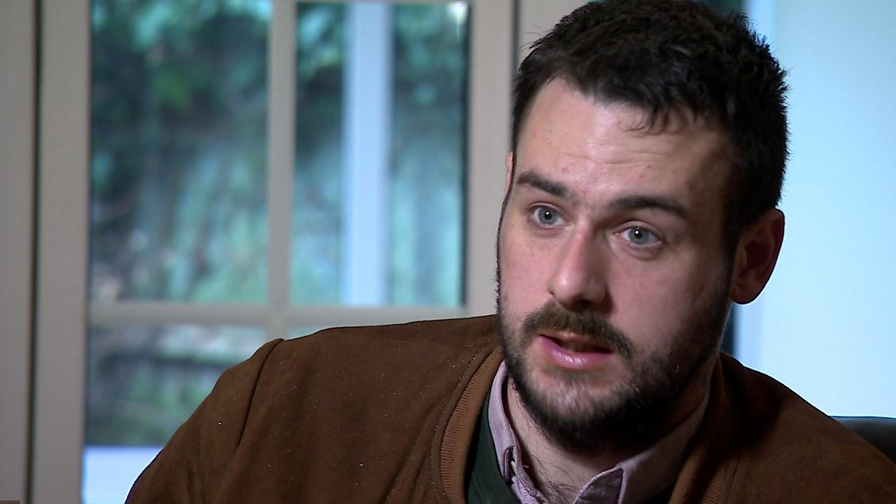 Psychiatric patient Oliver Lang speaks about his delayed discharge