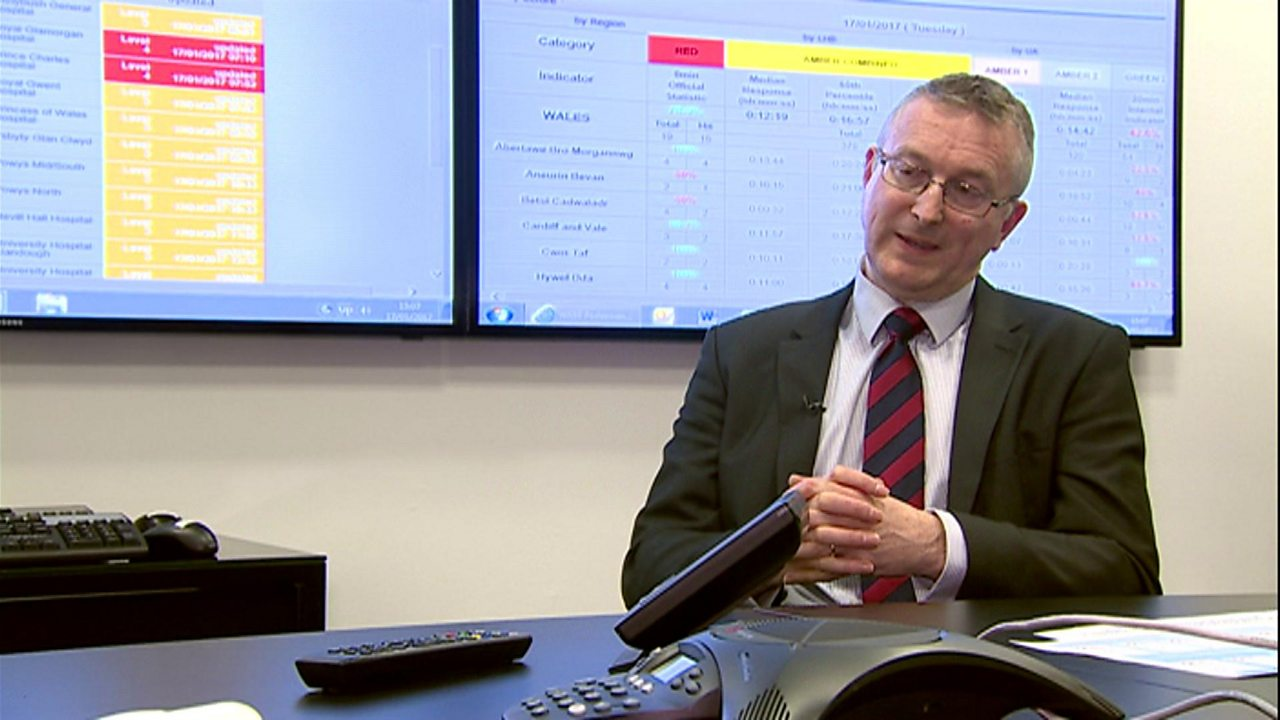 NHS Wales chief says winter pressures 'very challenging'