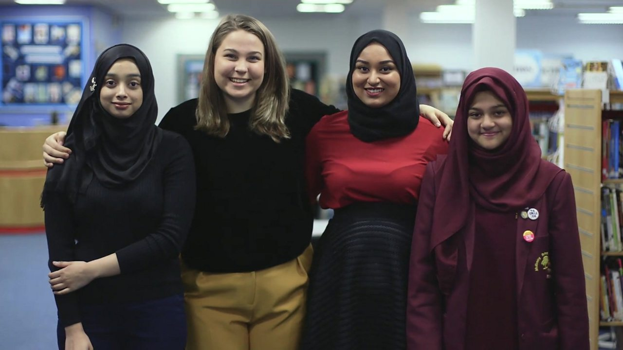 'Inspiring, determined, kind': Who are these London schoolgirls describing?