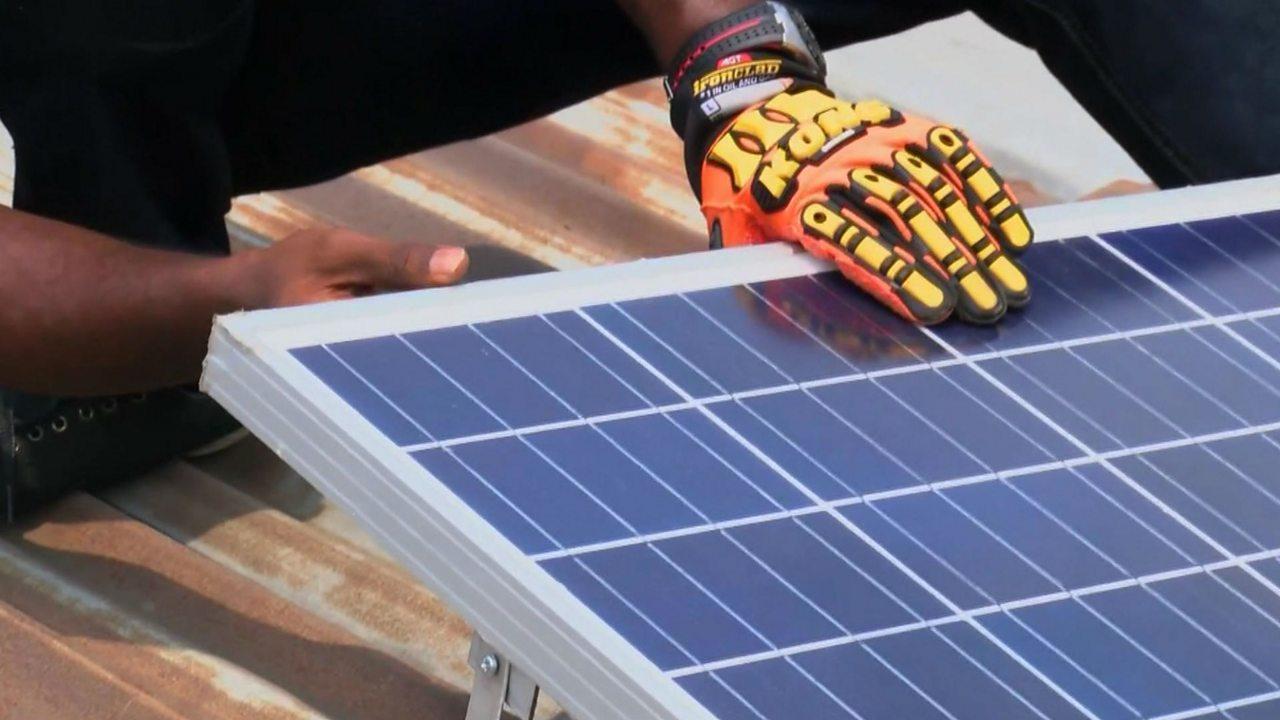 Nigeria's pay-as-you-go solar solution