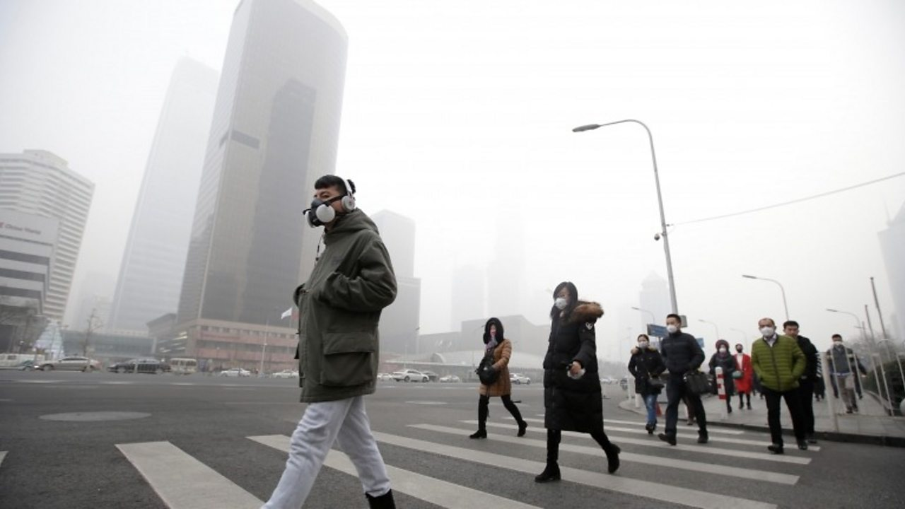 WHO chief: Air pollution link to 600,000 deaths in children