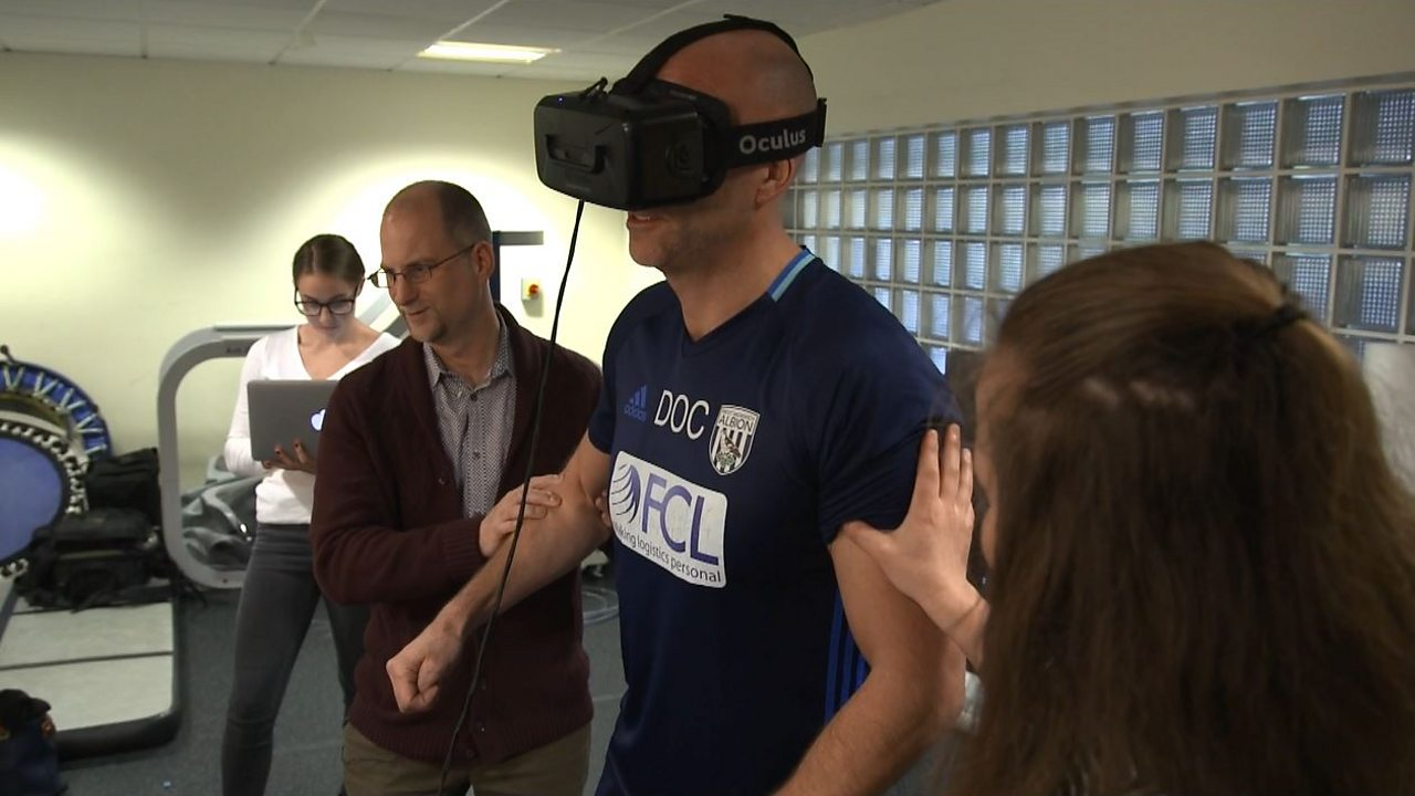 Virtual reality tests on footballers could spot brain injury