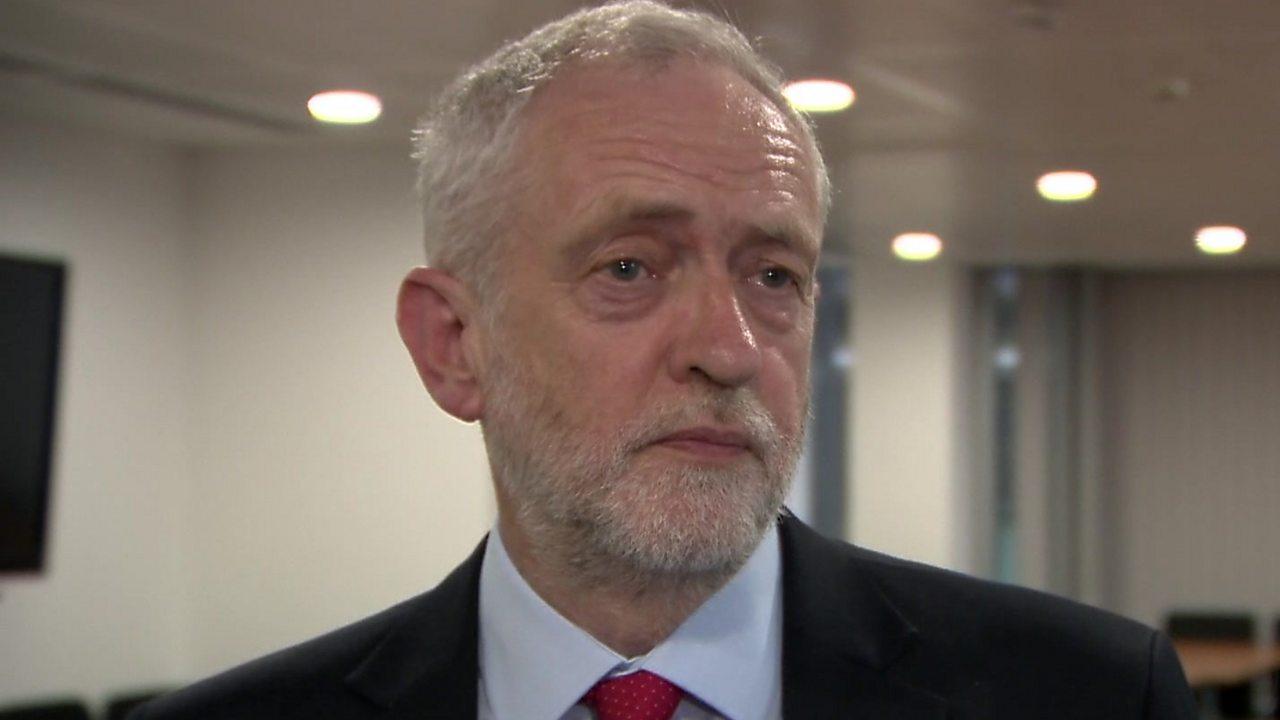 Jeremy Corbyn: Labour won't threaten Europe over Brexit