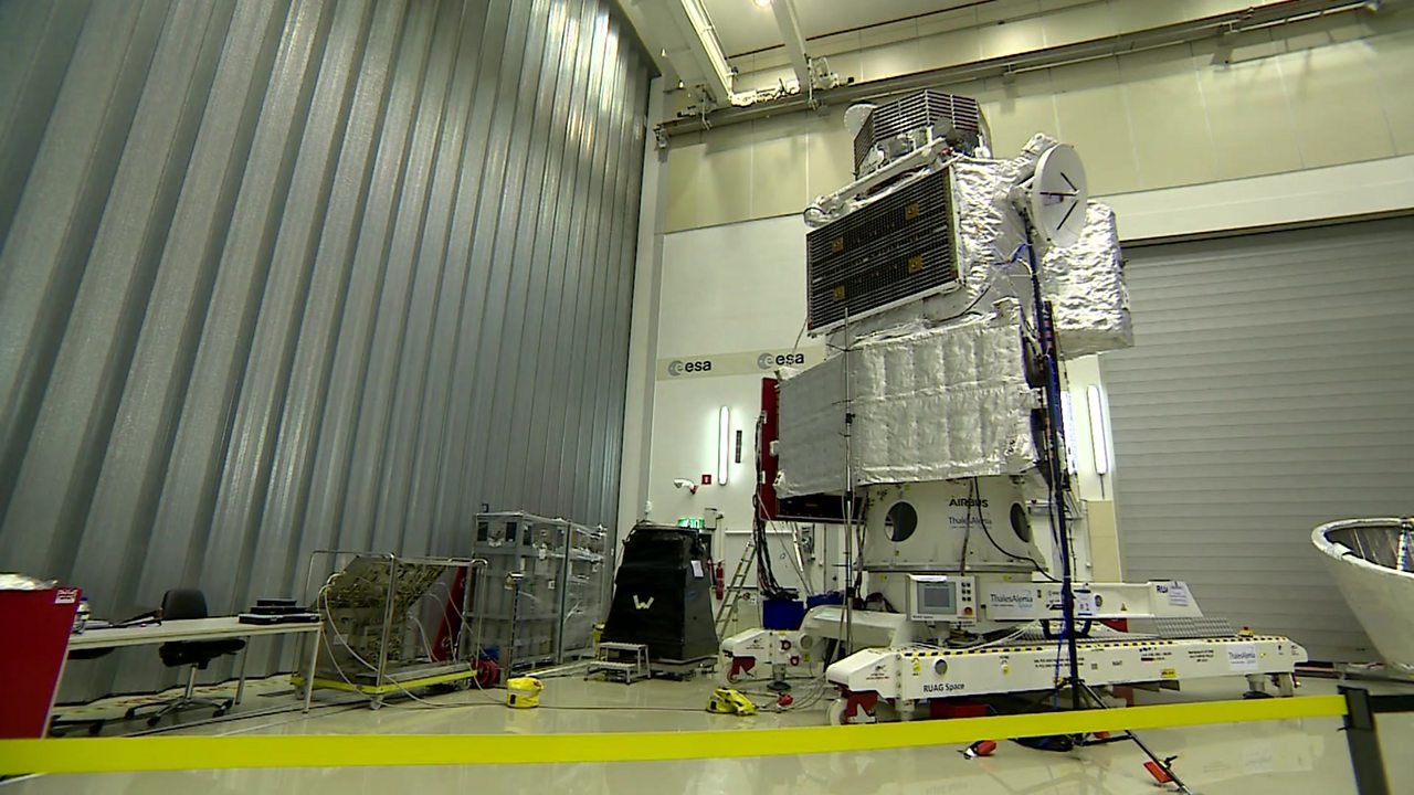 Mercury mission: BepiColombo gets ready to launch
