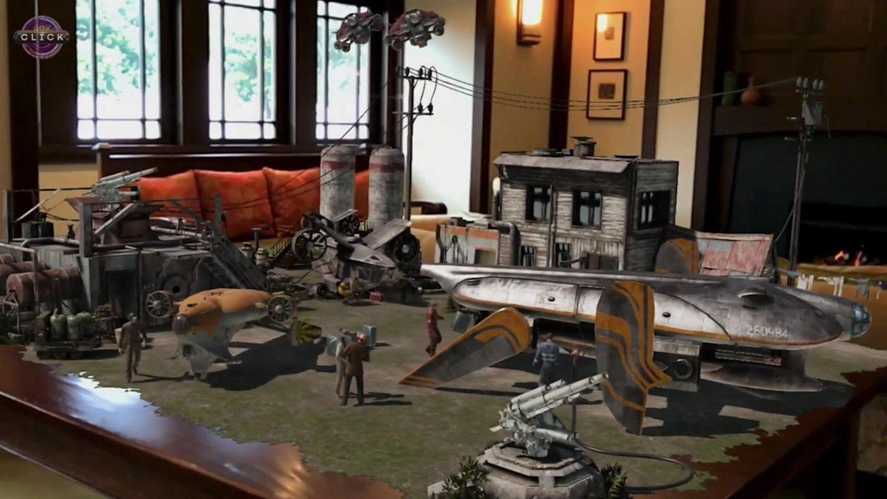 Sir Peter Jackson's studio reveals augmented reality demo