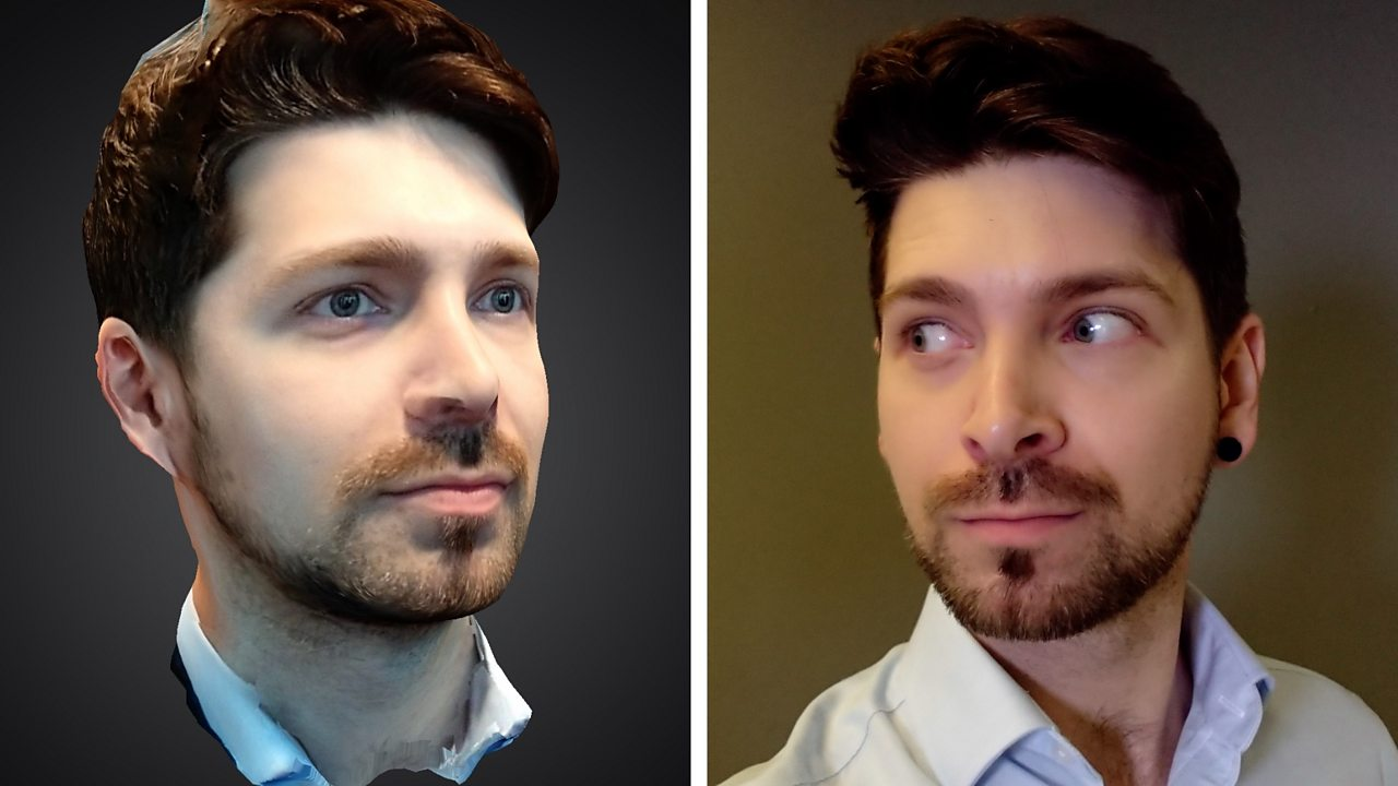 Sony phone app takes 3D clone snaps
